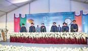 AIUB's 19th Convocation held