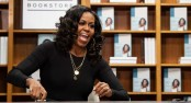 Michelle Obama wins Grammy for best spoken word album