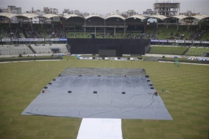 Rain delays toss in third Bangladesh-Pakistan Twenty20