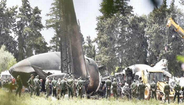 Two pilots killed in military jet crash in Algeria