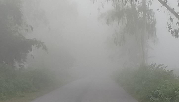 Lowest temperature recorded 6.3°C in Tetulia