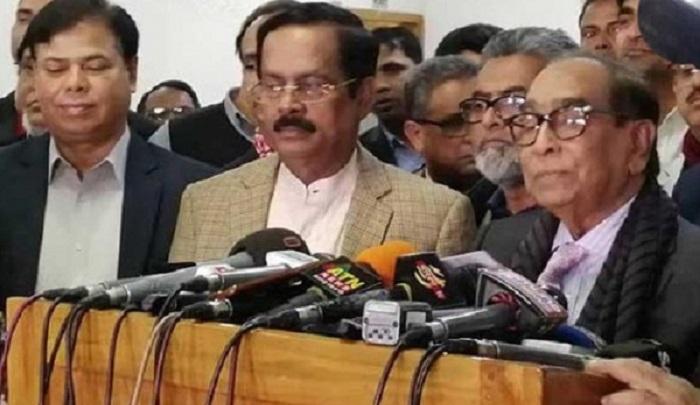 BNP hatching conspiracy to foil polls: HT Imam