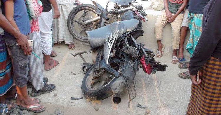 Three students killed as train hits macrocycle in Gopalganj
