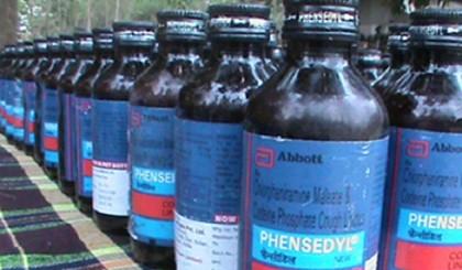 2 arrested with 1490 bottles of Phensedyl