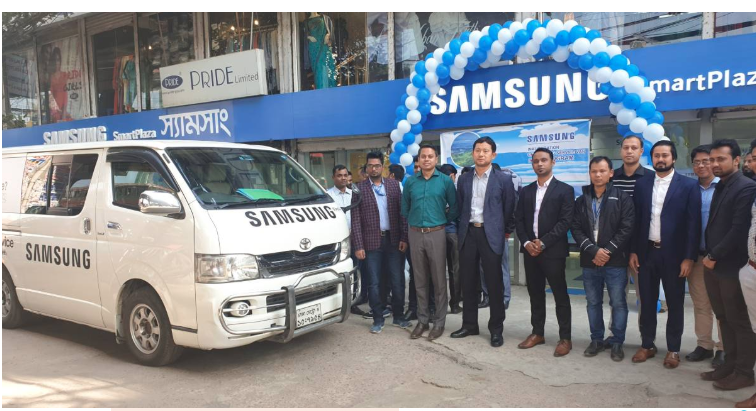 Samsung brings door-to-door customer service in Chattogram
