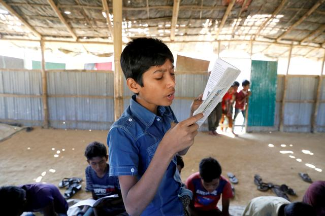 Humanitarian community govt decision to expand access to education for Rohingya children