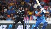 Sharma's six in Super over thriller gives India T20 series against New Zealand