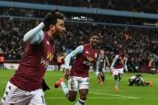 Trezeguet sparks wild celebrations as Aston Villa reach League Cup final