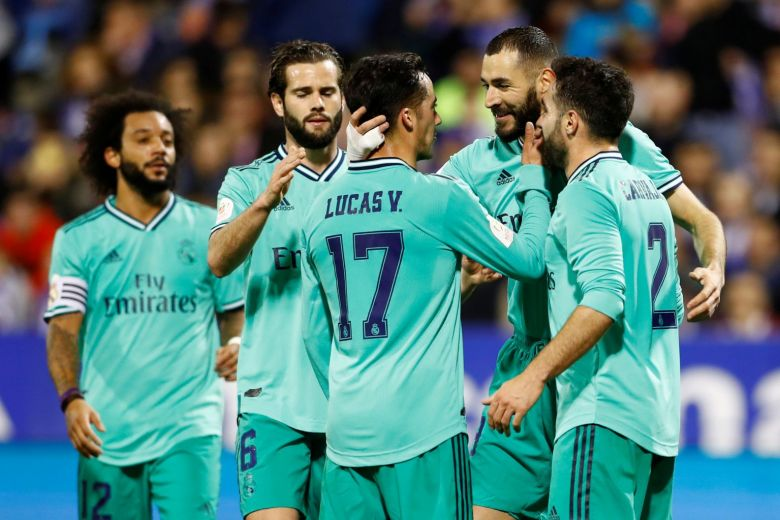 Madrid thrash Zaragoza to make Copa del Rey quarter-finals