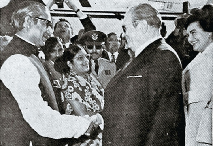 Yugoslav President in Bangladesh