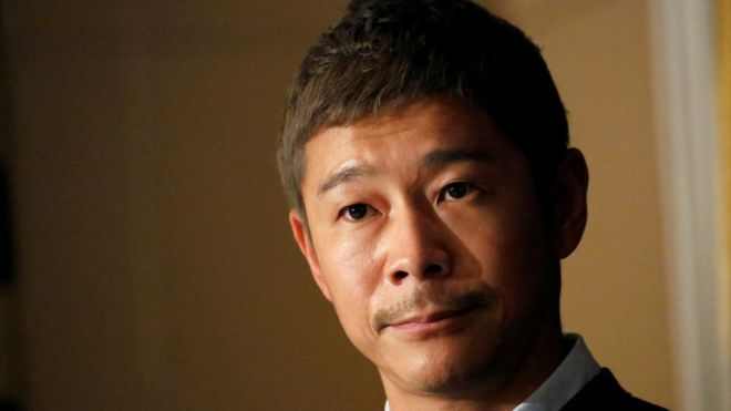 Japanese billionaire cancels search for moon trip 'life partner'