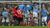 Man City hold off Man Utd to reach League Cup final