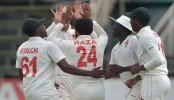 Zimbabwe consolidate lead after Raza's seven