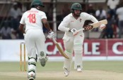 Brendan Taylor fifty stretches Zimbabwe's lead close to 300