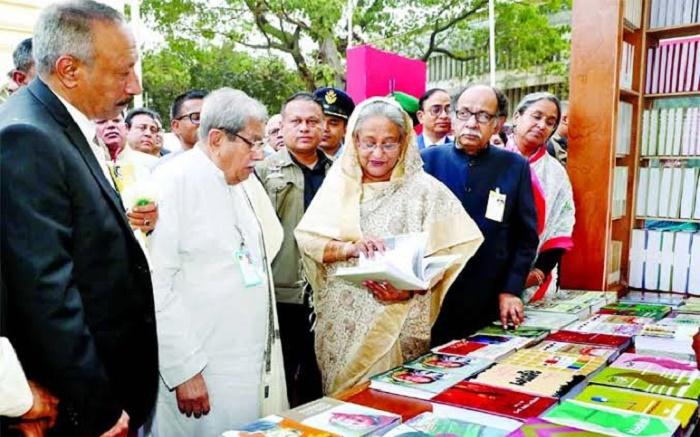 Prime Minister opens Amar Ekushey Book Fair-2020