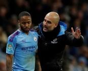 Guardiola unconcerned by Sterling slump