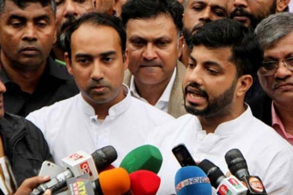 Ishraque, Tabith to express reactions over city polls on Wednesday