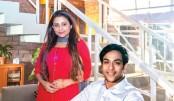 Amaan Reza in advert for Singer Home Applines