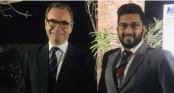 Fahim receives 7th Gold Award of Duke of Edinburgh's Foundation