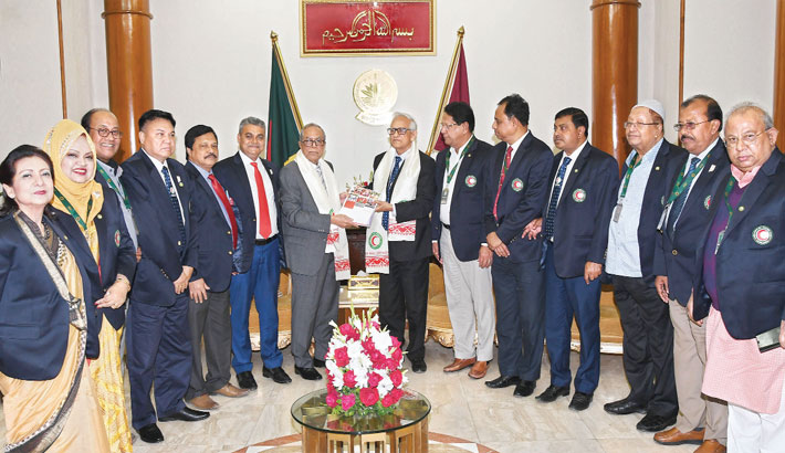 Bangladesh Red Crescent Society (BDRCS) submits their annual report