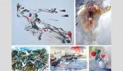 Group art exhibition '7' underway at Galleri Kaya