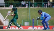 High voltage India-Pakistan semifinal in progress