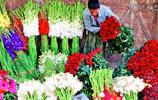 High season for flower sale: Jashore florists eye Tk 70cr business