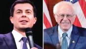 Buttigieg takes  lead in Iowa vote, Sanders second