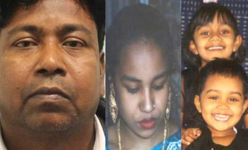 Bangladeshi man gets life term for killing wife, daughters in UK
