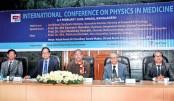Confce on physics in medicine  begins at DU