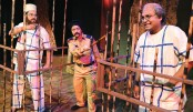 Prangone Mor stages 'Condemned Cell' at BSA