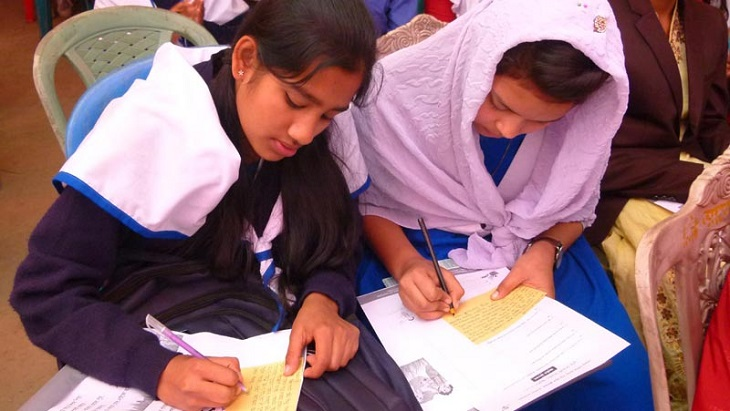 600 students write up their dream to PM in Kaliganj