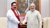 Indian PM Modi holds talks with Sri Lankan PM Mahinda Rajapaksa