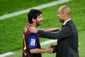 Guardiola wants Messi to stay with Barcelona