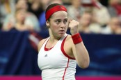 Ostakpenko beats Kenin to keep Latvia alive in Fed Cup