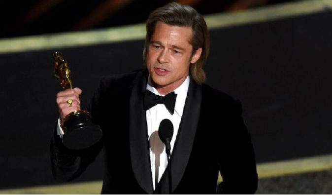Brad Pitt, 'Parasite' win the Oscar