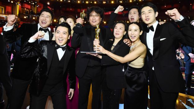 South Korean film 'Parasite' makes history by winning Oscar