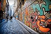 Masked vandals paint bomb and destroy Australia's most famous laneway