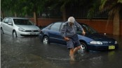 Sydney rains: Record rainfall brings flooding and douses fires
