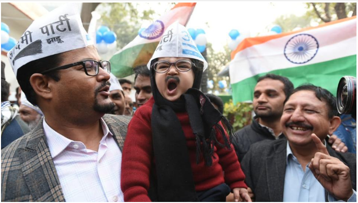 Arvind Kejriwal's little lookalike takes social media by storm