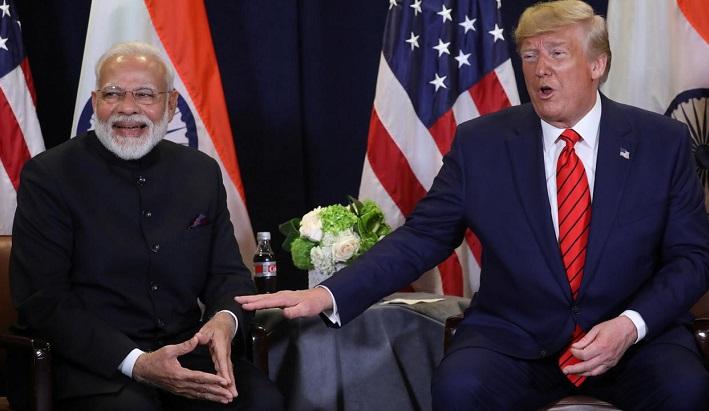 Trump announces visit to India February 24-25