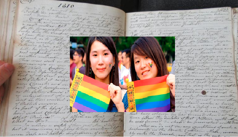 200-year-old diary shows some surprising attitudes to homosexuality
