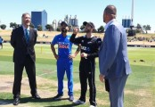 New Zealand win toss, bowl in third India ODI