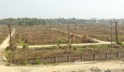 Most plots remain unused due to lack of facilities