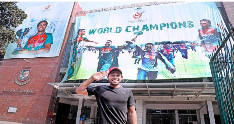 Mushfiqur salutes victorious Young Tigers