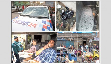 Illegal bond traders attack 2 journos