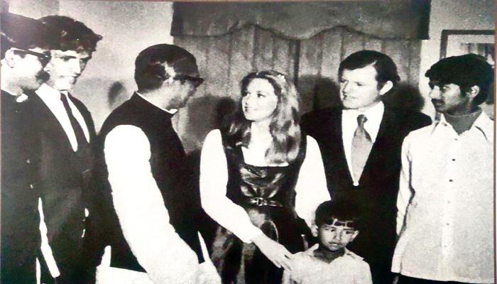 US Senator Kennedy in Bangladesh
