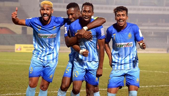 Chattogram Abahani beat Sheikh Jamal DC 2-0 in BPL