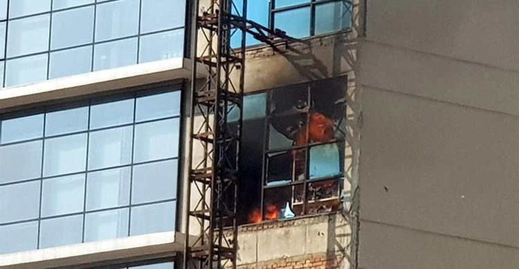 Fire at DR Tower in Paltan