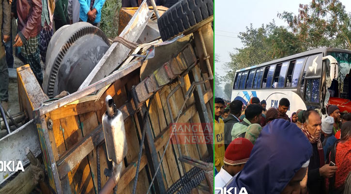 Five killed in Gopalganj road crash